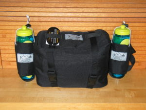 Water bottle carriers are optional - see Accessories